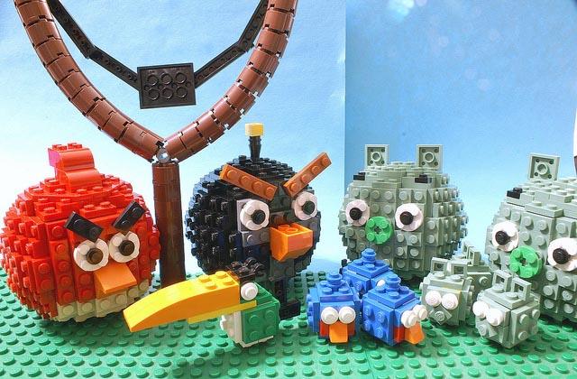 Animated LEGO Angry Birds