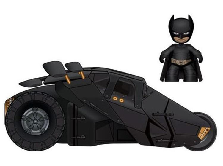 Batman Mez-Itz Mini Figure with Tumbler or Batpod Batmobile
