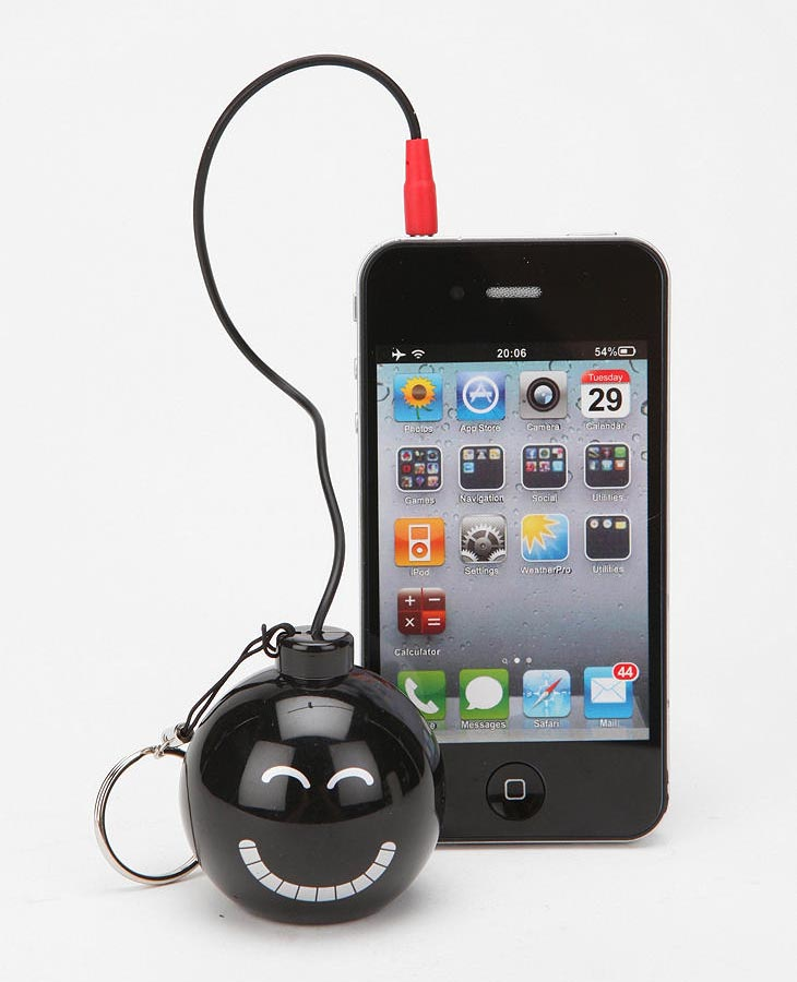 Bomb Shaped Portable Speaker