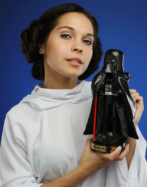 Darth Vader and Yoda Master Nutcrackers