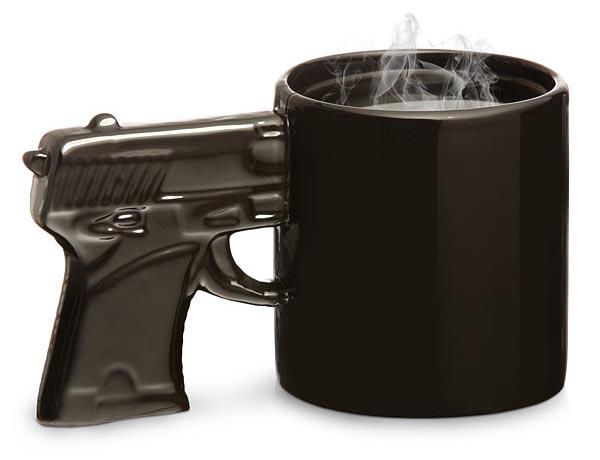Gun Styled Mug