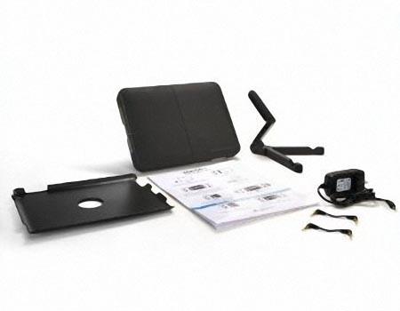 iMainGo XP Protective Case with Portable Speaker for iPad 2 and Original iPad