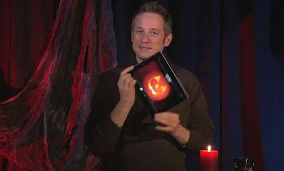 iPad Halloween Themed Magic Show by Simon Pierro