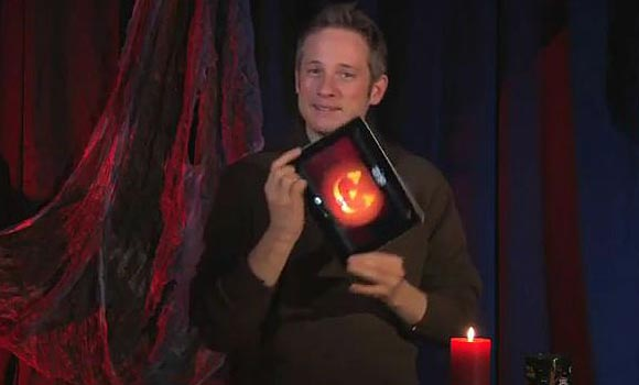 iPad Halloween Themed Magic Show by Simon Pierro