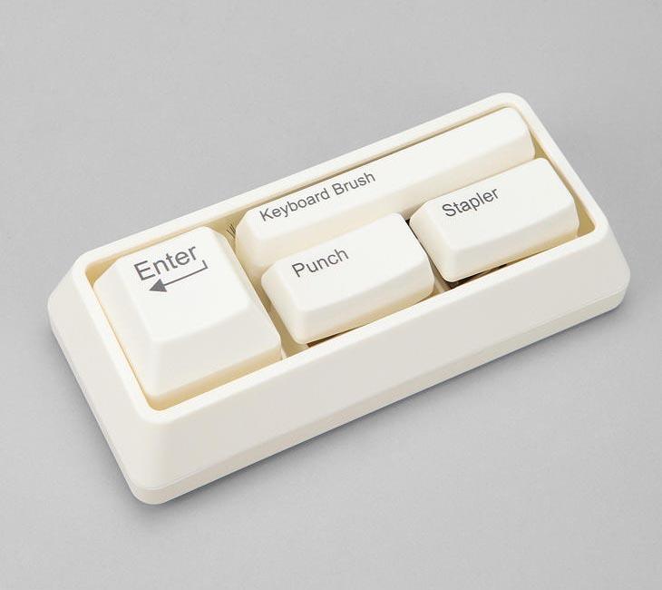 Keyboard Styled Stationery Set