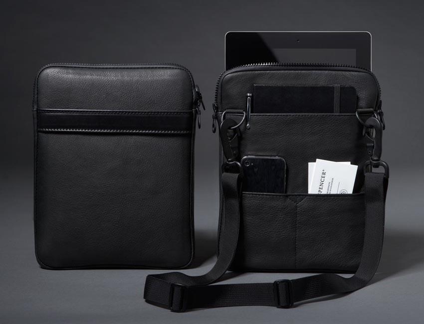 Killspencer Classic Leather iPad Bag