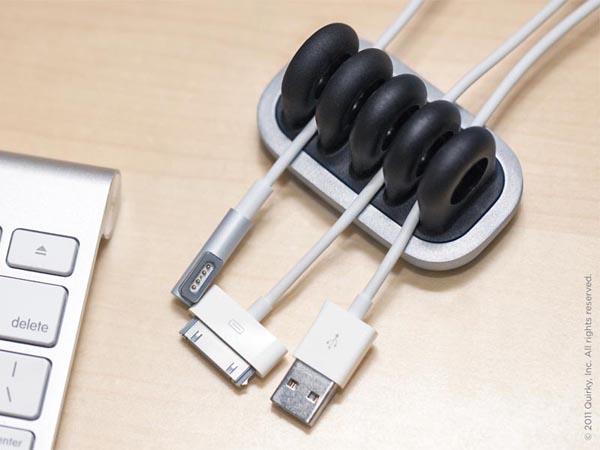 Metal Cordies Desk Cable Organizer