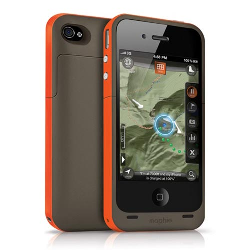 Mophie Outdoor Edition Juice Pack Plus iPhone 4S Battery Case