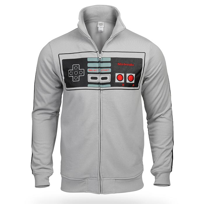 Nintendo Game Controller Track Jacket