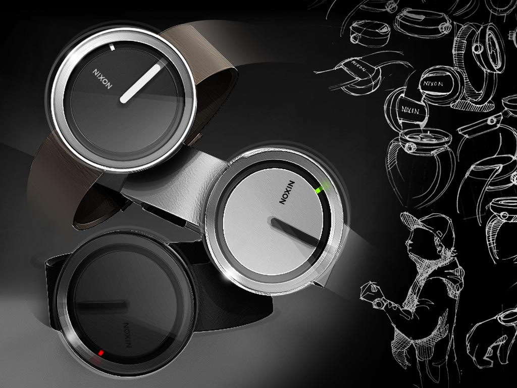 Design By: Nixon Minimalist Concept Watch