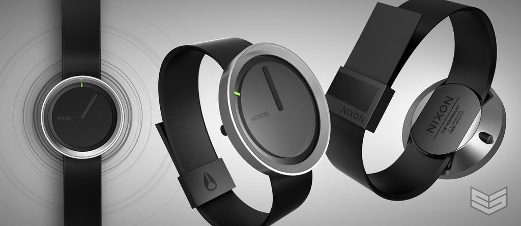 Nixon Minimalist Concept Watch Gadgetsin