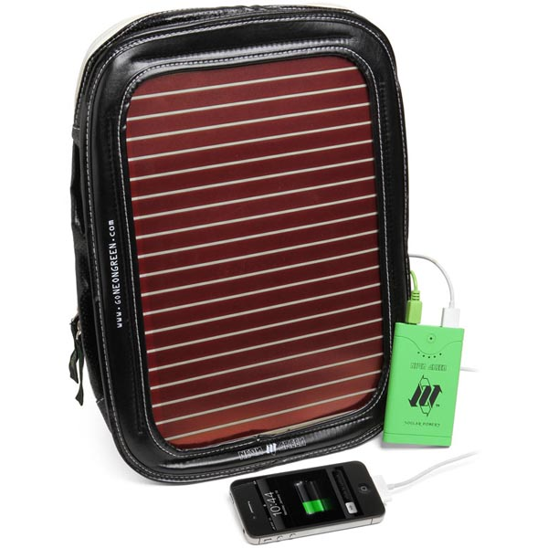 Piggyback Solar Powered Gadget Bag