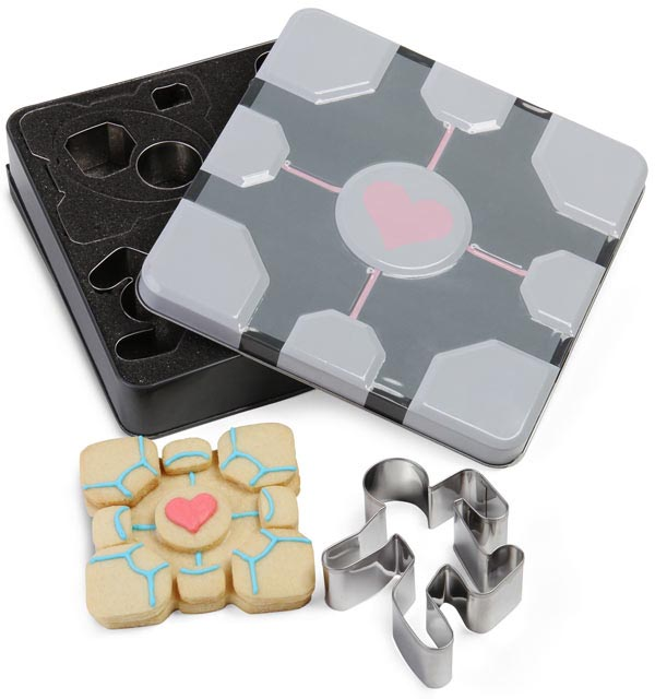 Portal Themed Cookie Cutters