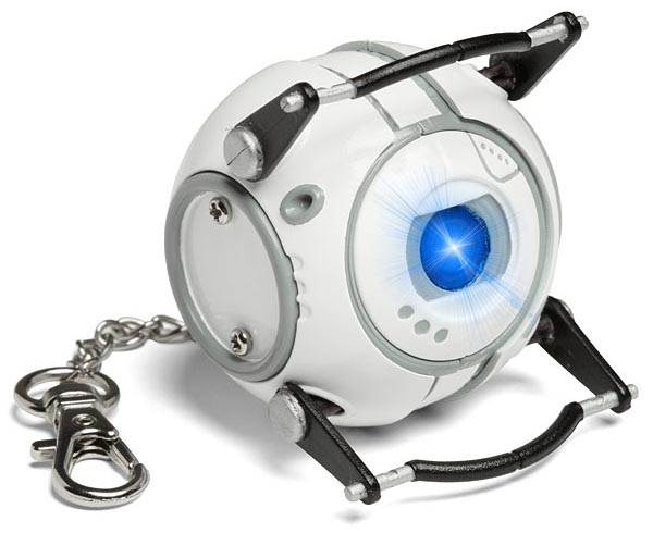 Portal Turret and Wheatley LED Flashlights