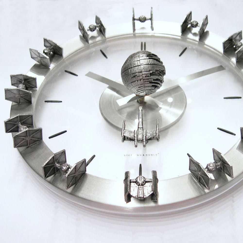 Star Wars Starships Wall Clock Gadgetsin