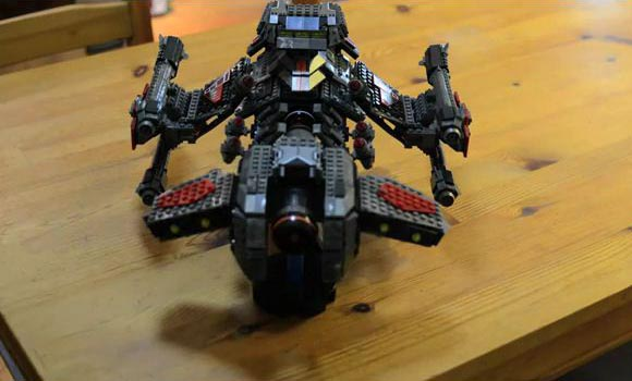 StarCraft 2 Battlecruiser Time Lapse Video