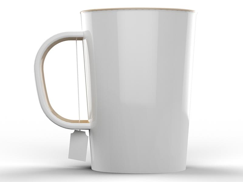 Steeper Keeper Ceramic Mug