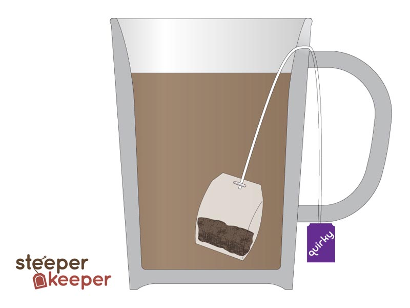 Steeper Keeper Ceramic Mug
