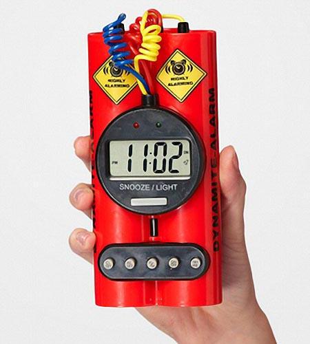 Timebomb Styled Alarm Clock