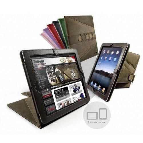 Tuff-Luv Saddleback Leather iPad 2 Case