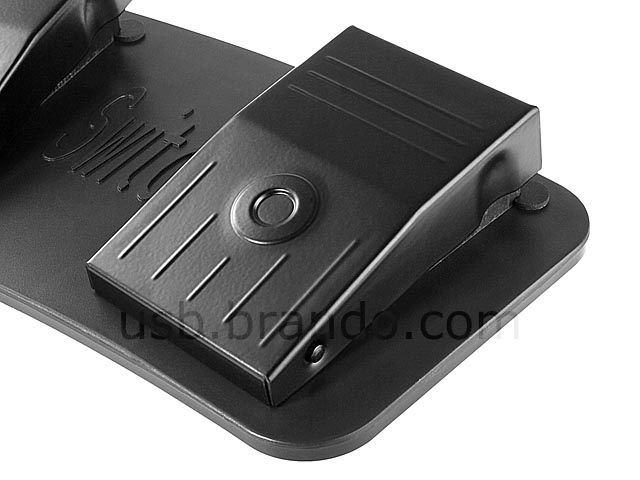 USB Metal Triple Foot Pedal