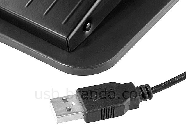 USB Metal Triple Foot Pedal