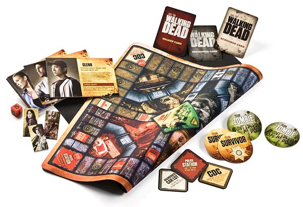 Walking Dead Themed Board Game