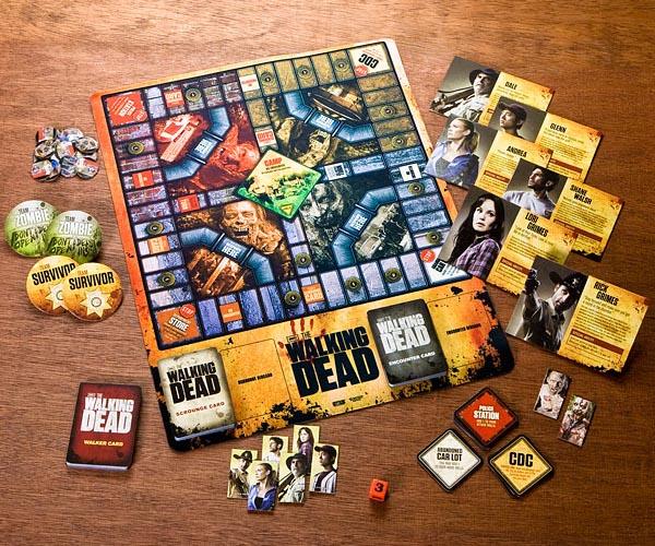 Walking Dead Themed Board Game