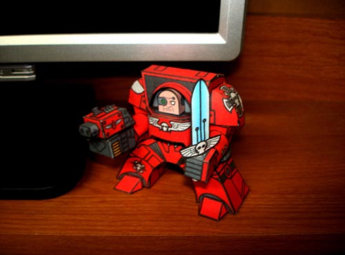 Warhammer 40K Themed Paper Crafts
