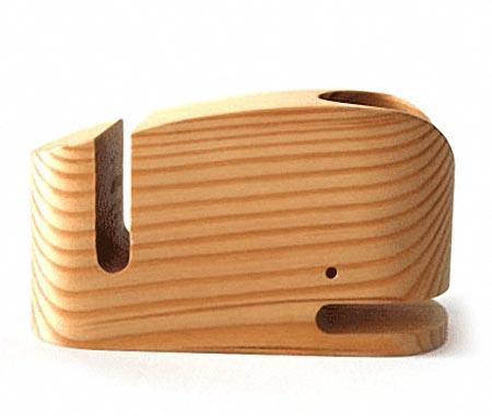 Wood Whale Desk Orgainzer