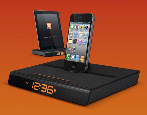 XtremeMac Luna Voyager II Dock Speaker for iPhone, iPod and iPad