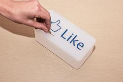 Facebook Like Button Tip Box