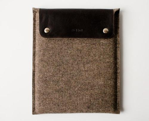 Handmade Protective Sleeve for iPad 2 and Original iPad