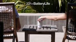 Hidden Radio and Portable Bluetooth Speaker