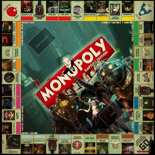 BioShock Themed Monopoly
