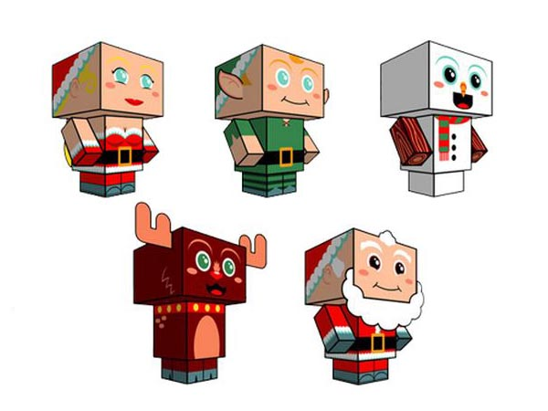 2011 Christmas Cubee Crafts