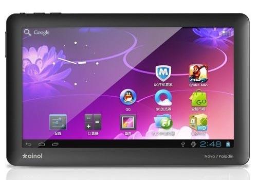 Ainol NOVO Knight Paladin Android Tablet