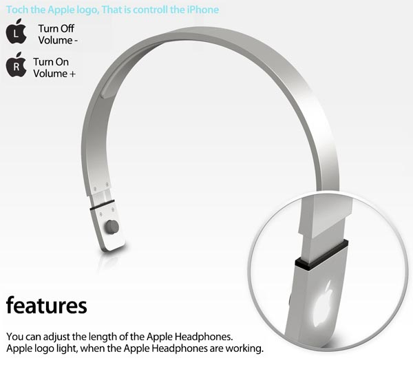 Apple Headphones Design Concept