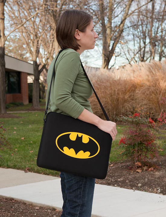 Batman Themed Laptop Bag
