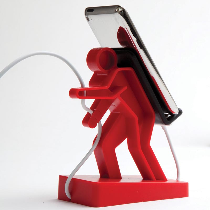 Boris Hiker Shaped Phone Holder