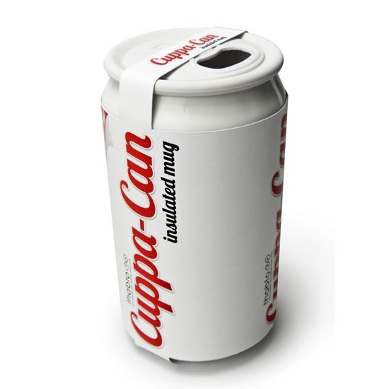 Cuppa Can An Aluminum Can Styled Coffee Mug