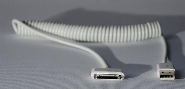 Curly Sync and Charging Cable for iPad and iPhone