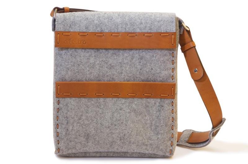 diFeltro Fold Handcrafted iPad Bag