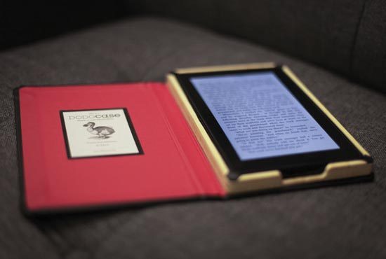 Diy Book Cover For Kindle : Dodocase kindle fire case gadgetsin