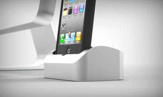 Elevation Dock An Aluminum iPhone Dock
