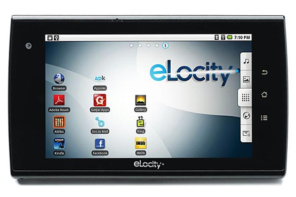 eLocity A7+ Android Tablet