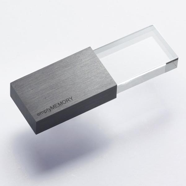 Empty Memory USB Flash Drive