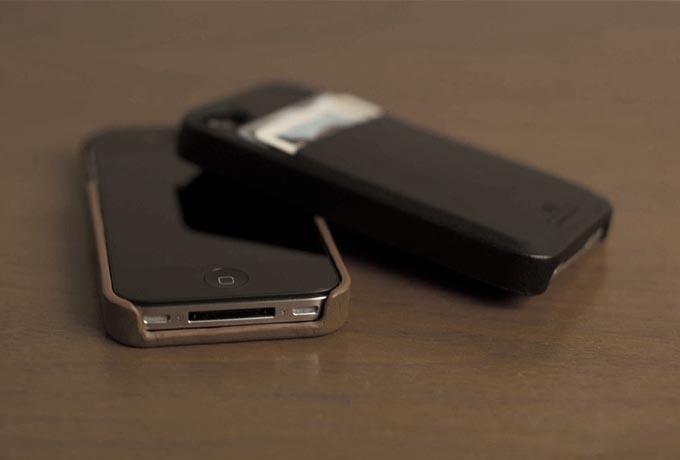 Hex Solo Wallet iPhone 4S Case