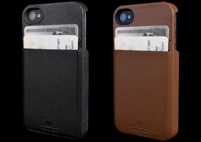Hex Solo Wallet iPhone 4S Case