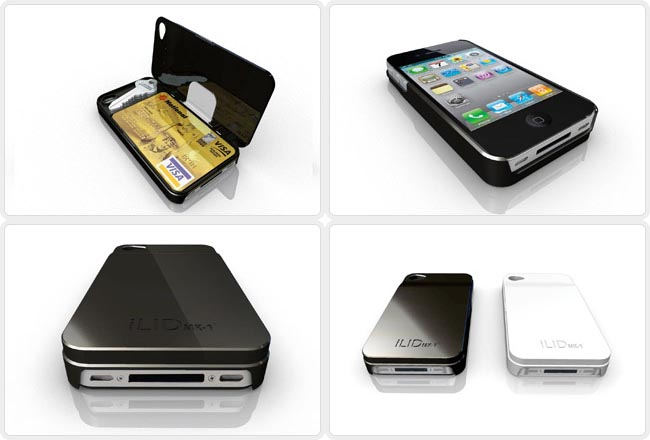 ILIDmk-1 iPhone 4 Case with Wallet